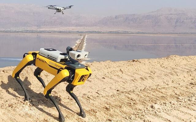Robot + Drone Duo Transform Industrial Site Surveillance